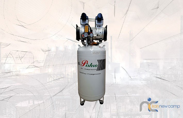 کمپرسور مدل CP80 oil free پیشرو دریل