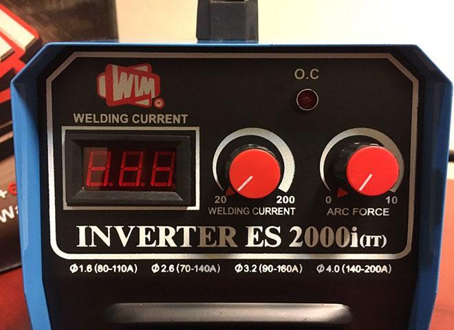 دستگاه جوش 200 آمپر مدل ES 2000